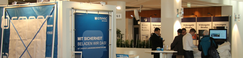 Messestand von EMPAC aus Emsdetten Gefahrgut und Gefahrstoff