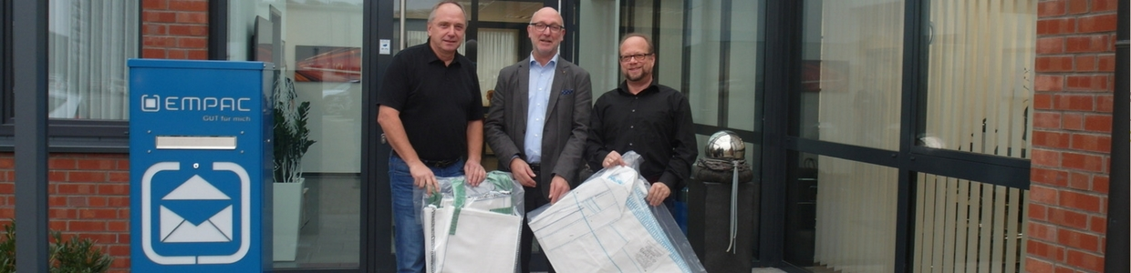 MPAC spendet Bigbags an Nabu